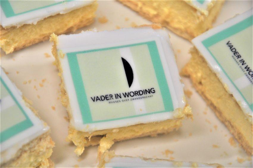 taartje met logo